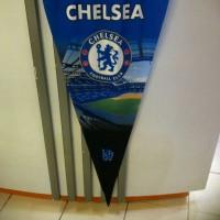 Bendera segitiga kain Chelsea