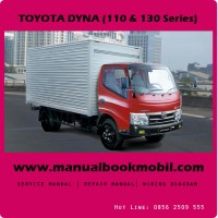 harga Service Manual Toyota Dyna (110 & 130 Series) Tokopedia.com
