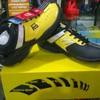 Sepatu Badminton / Bulutangkis RS ALY 70 Yellow Black