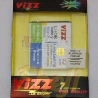 Andromax U Smartfren 3000mAh Battery / Baterai Vizz Double Power Max-U