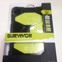 Ipad Mini 1/2 Retina Griffin Survivor Hijau Stabilo (OEM)