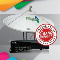 Topas Receiver Mpeg-4 Cband Prepaid