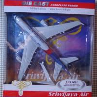 Miniatur Pesawat Terbang ( Plane Diecast ) : SRIWIJAYA AIR
