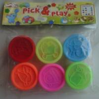 Mainan Lilin Cetak/Playdough