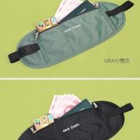 Tas Pinggang Dompet - Security purse portable waist money wallet