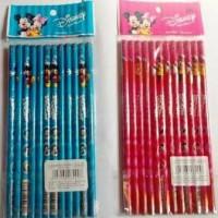 Pensil 2B Mickey Minnie Set