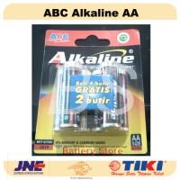 Baterai ABC Alkaline AA / A2 - 6 pcs! - Battery - Batre - Batere
