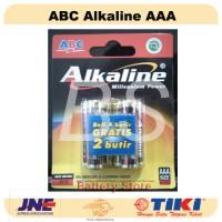 Baterai ABC Alkaline AAA / A3 - 6 pcs! - Battery - Batre - Batere