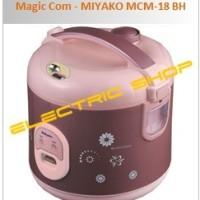 Magic Com 3 in 1 - MIYAKO MCM-18 BH (Berlian Hitam)