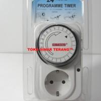 Stop Kontak Timer / Program Timer Otomatis 24 Jam / Hours Merk KITANI