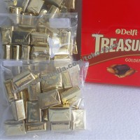 Coklat Delfi Kiloan Treasures Golden Almond (1kg/isi 96pcs)