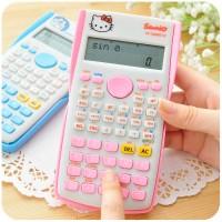 Kalkulator Scientific Hello Kitty sin cos tan ( doraemon rilakuma )