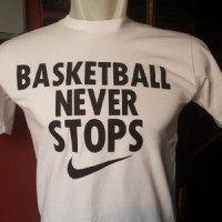 T-Shirt Nike Basketball Never Stops High Quality