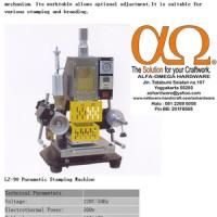 Mesin Embols / Hot Print untuk Kulit - Kertas - Kulit Imitas