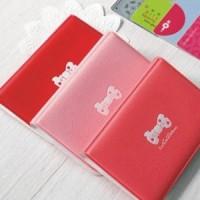 Dompet Kartu Mini Motif Cute Ribbon (Isi 12 Kartu)