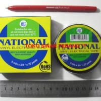 Isolasi Listrik NATIONAL HITAM / Solasi Kabel Nasional Electrical Tape