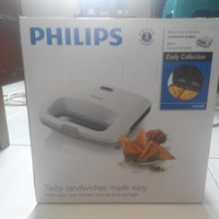Sandwich Maker/ Pemanggang Roti Philips HD2393