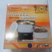 Jual Travel Cooker/ Panci Listrik Maspion MEC-3500 Dual Voltage Murah
