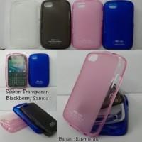 Blackberry Samoa 9720 Black berry softcase soft case Silikon Softshell Kondom Sarung HP
