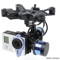 Tarot T-2D Two Axis Brushless Gimbal for GoPro and ZYX22 Controller
