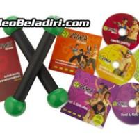 Paket DVD Senam Zumba Fitness Total Body Transformation System
