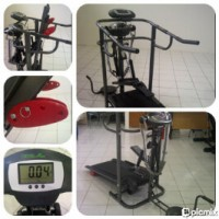 Treadmil Manual 4 Fungsi + Massager
