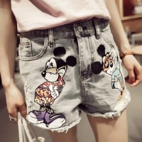 SC5ZGSHB78 Hot Pants / Celana Pendek Jeans - Denim # Size - 30