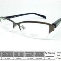 Kacamata Frame Nikon Titanium 8205 Gun