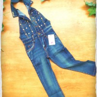 G418	Ann Baby Overall Jeans