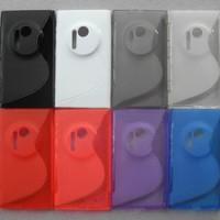 Jual Softcase Gel TPU S-Line Soft Silikon Case Kondom Nokia Lumia 1020