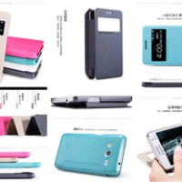 Nillkin Sparkle Leather Case Samsung Galaxy Core 2 - Core 2 Duos