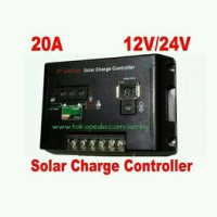 AUTO SOLAR CHARGE CONTROLLER 20A 12/24VOLT