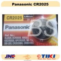 Baterai Kancing Panasonic CR2025 (CR 2025) - Kalkulator - Jam !
