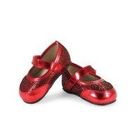 Mud Pie Red Mary Jane Shoes