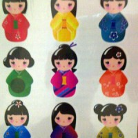 Potatoo Temporary Tattoo Import - Cute Kimonos