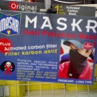 Masker Debu / Asap / Chemical MASKR Anti Pollution Long Black