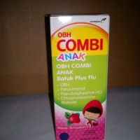 OBH COMBI ANAK BATUK PLUS FLU RASA STRAWBERRY SIRUP 60 ML