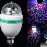 LAMPU LED DISCO RGB BERPUTAR