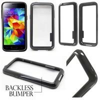 Plastic Solid Bumper Case Samsung Galaxy S5 Mini - S5 Mini Duos