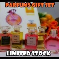 Parfum / Perfume CHANEL Miniatur /Mini Set Ori S'pore / Singapore