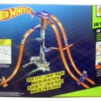 Track Hot Wheels - Track Builder 5-Lane Tower Starter Set