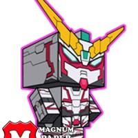 RX-0 Unicorn Gundam Paper Craft