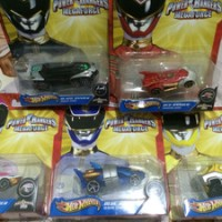 Hot Wheels power rangers megaforce series