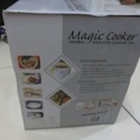 Magic Cooker tanpa listrik tetap panas (Thermal Insulated)