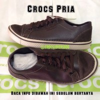 hover lace up leather coklat brown