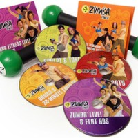 Jual DVD Senam Zumba Fitness Total Body Transformation System 4 DVD Murah