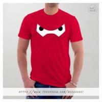Baju Kaos Baymax Merah