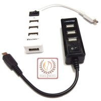 harga Micro Usb On The Go (otg) Hub 4 Slot Support Android & Tablet Windows 8 Tokopedia.com