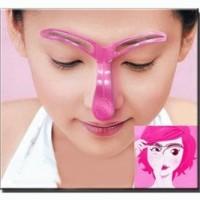 Jual Eyebrow Template Eye Brow alat bantu untuk membuat alis Murah