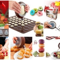 macarons decoration set / cetakan kue